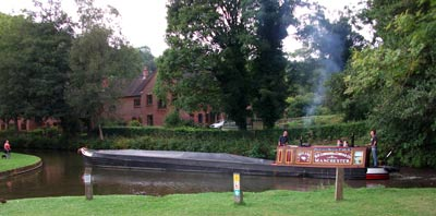 Uttoxeter Canal Narrow Boat