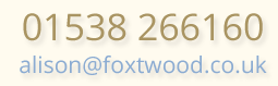 Email Foxtwood Self catering cottages